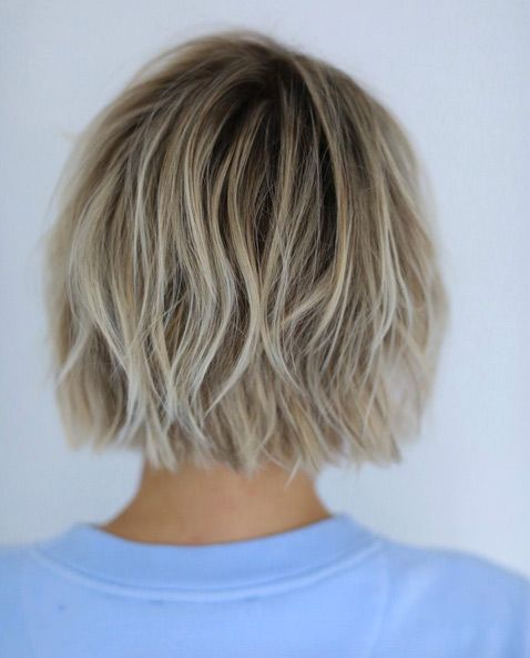 Dress Well with Your Short Hairstyles 2017 Choppy_bob_style_1