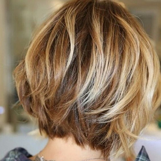 Dress Well with Your Short Hairstyles 2017 Choppy_bob_style_2-1