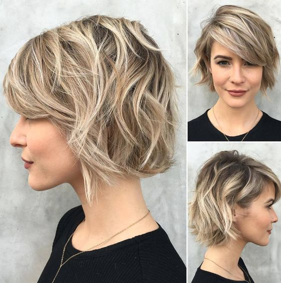 Dress Well with Your Short Hairstyles 2017 Choppy_bob_style_3