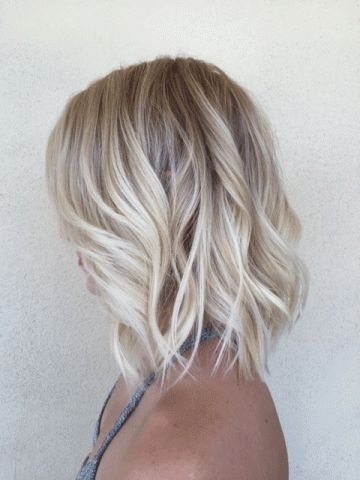 Short Blonde Hair Styles and Care Creamy_Blonde_Fade_2