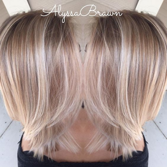 Short Blonde Hair Styles and Care Creamy_Blonde_Fade_7