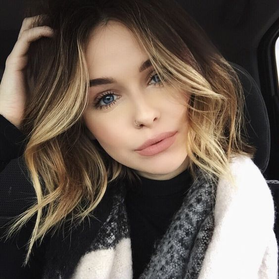 Best Styles ever for Short Hair Round Face! Curled_Bob_4