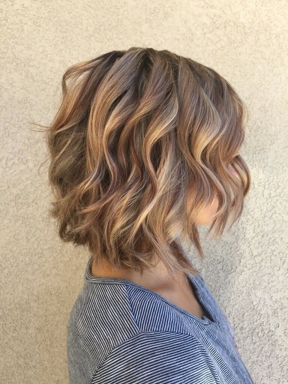 Best Styles ever for Short Hair Round Face! Curled_Bob_5