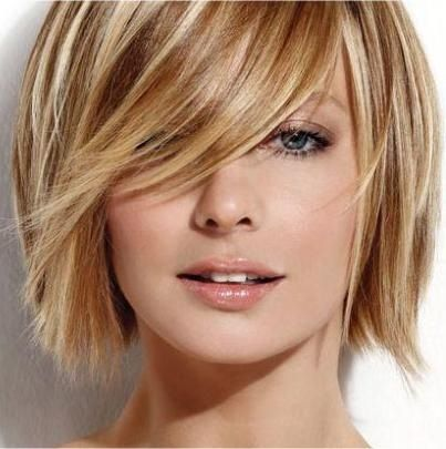 Latest Short Hairstyles 2017 Golden_Blonde_Layers_1