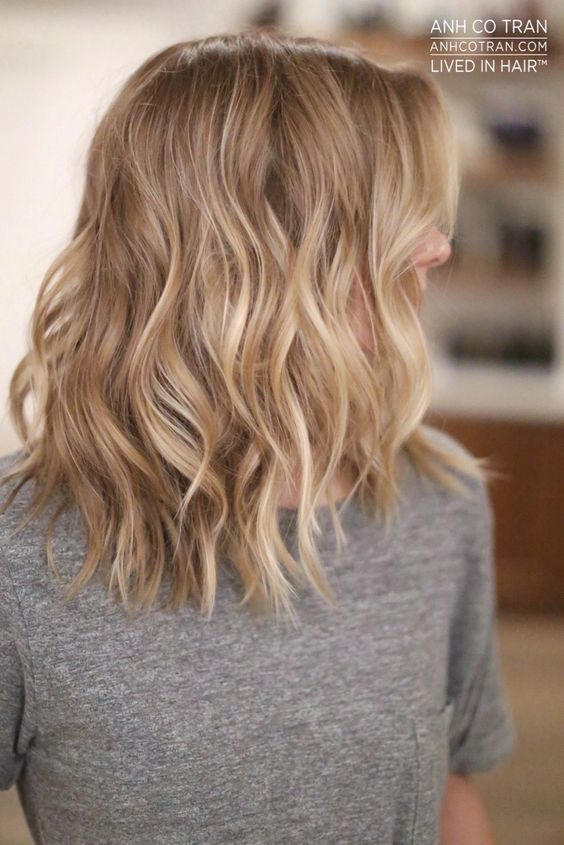 Short Blonde Hair Styles and Care Honey_blonde_waves_1