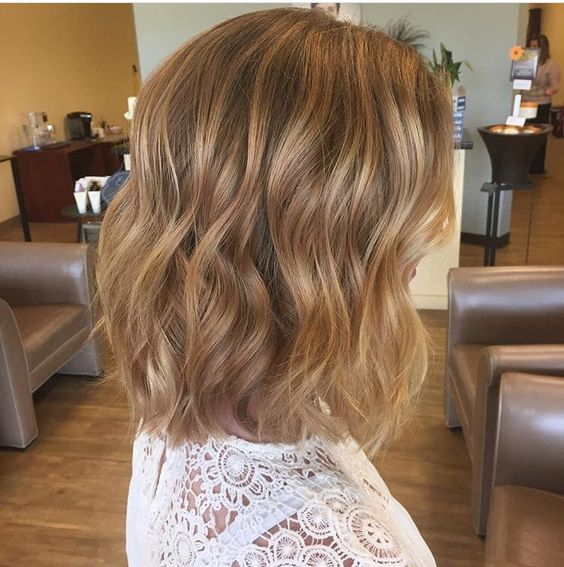 Short Blonde Hair Styles and Care Honey_blonde_waves_7