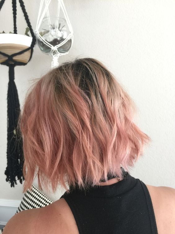 Best Styles of Short Haircuts for Thin Hair Pastel_Short_Hairstyles_3