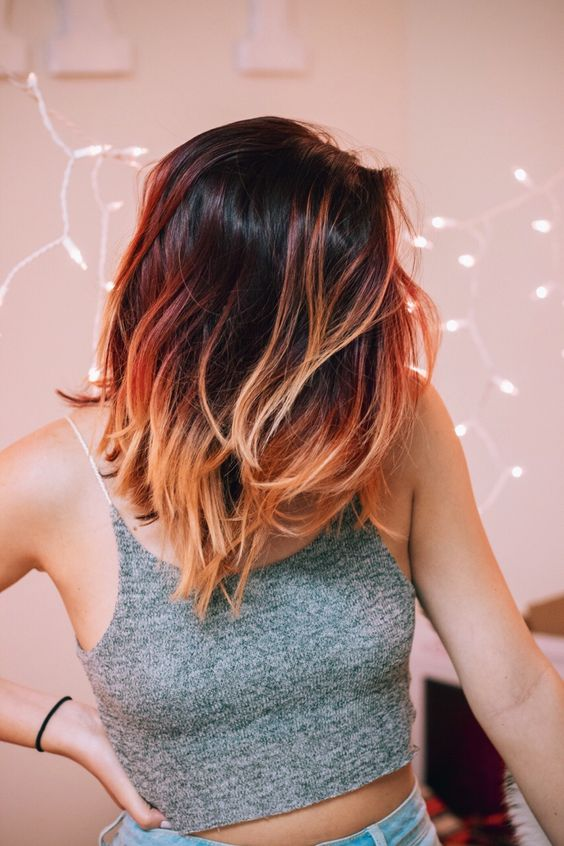 Short Ombre Hair that Good for You to Try! Smooth_Fade_3