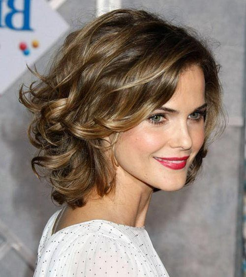 Take a Mirror and Start this now: Easy Hairstyles for Short Hair Wavy_Layers_2