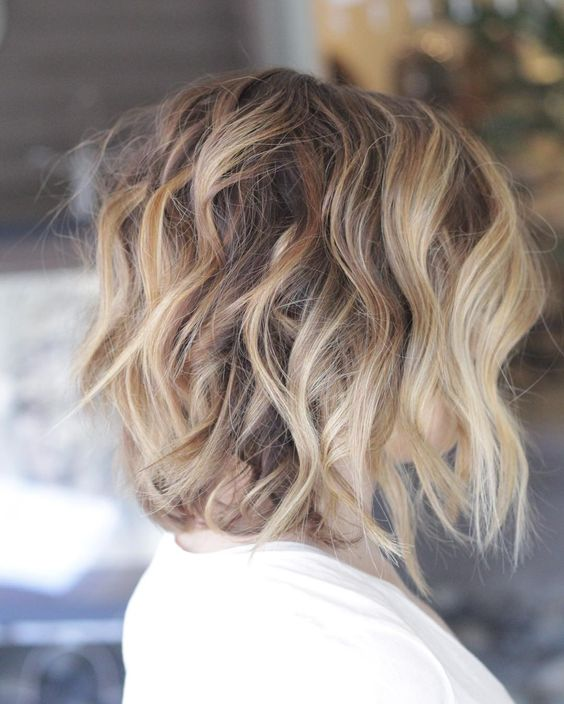 Should Try These Points: Prom Hairstyles for Short Hair Wavy_Sassy_Bob_2