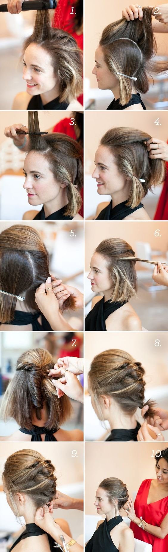 The Easy Updos For Short Hair That Will Amaze Men! cute_easy_updos_short_hair_5-1