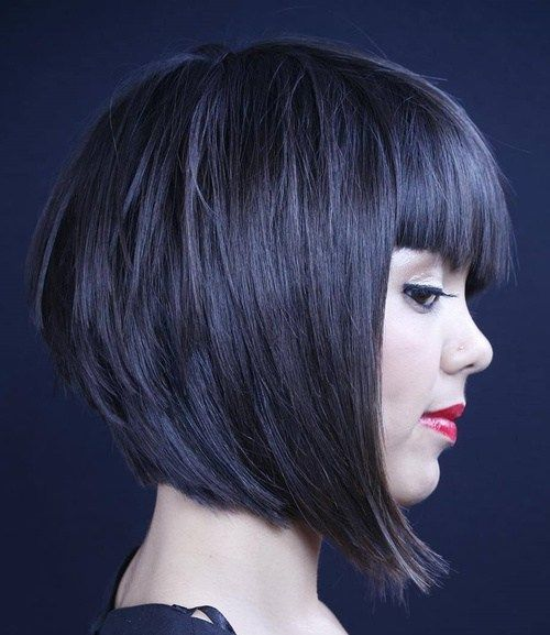 Trendy Inverted Bob Hairstyles fringe_inverted_bob_2
