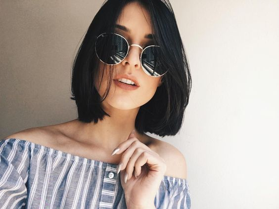 Short Black Hair That is Very Enchanting! short_black_hairstyles_women_1