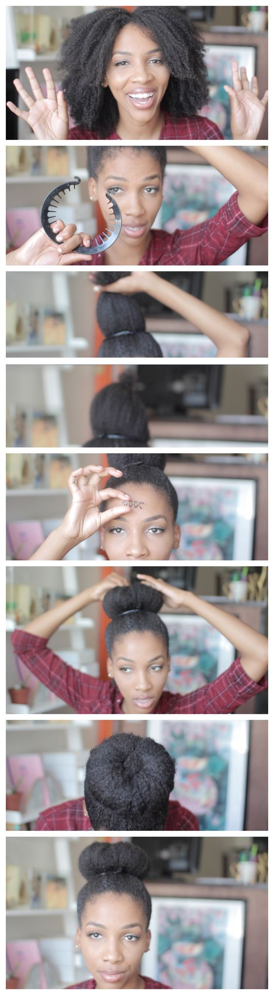The Best Short Natural Hair That You Should Know! short_natural_hair_tutorial_1-1
