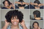 Short Natural Hair Tutorial 2