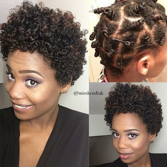The Best Short Natural Hair That You Should Know! short_natural_hair_tutorial_4-1