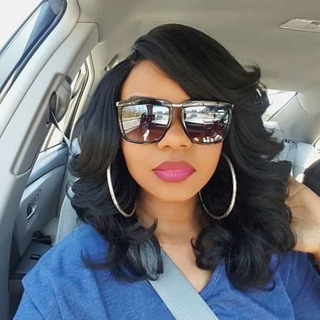 The Best Short Natural Hair That You Should Know! short_natural_wigs_3