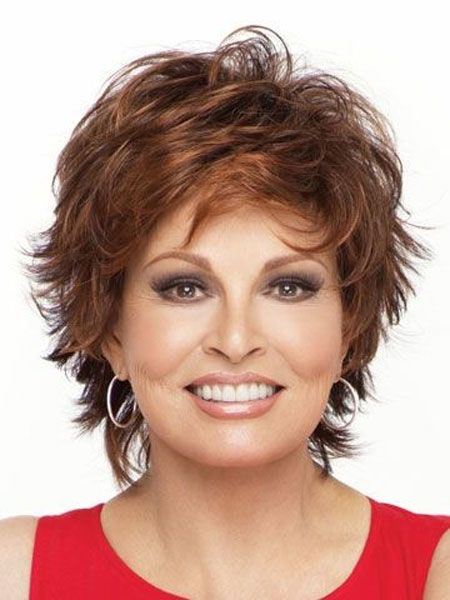 Classy Short Hairstyles for Older Women simple_short_cut_older_women_1