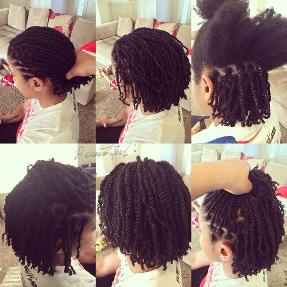 Short Black Haircuts that Best to Try! two_strand_twist_4-1