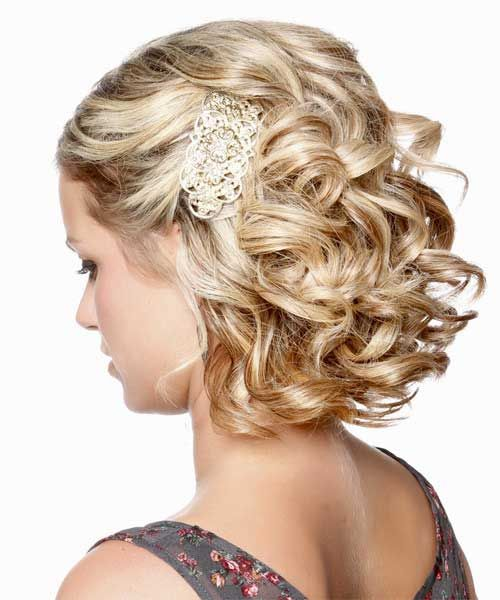 Updos For Short Hair That Will Increase The Beauty Values of Yours updos_short_hair_irregular_hairpin_1