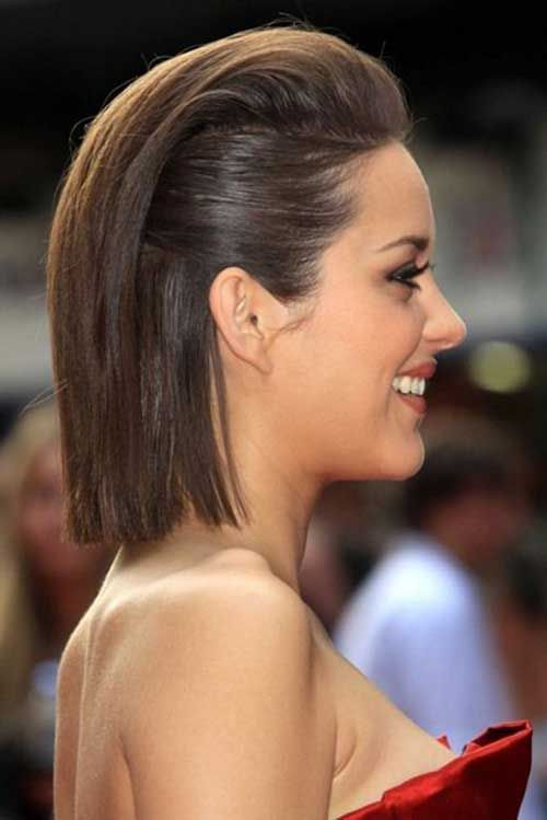 Fantastic Short Hair Style with Sleek Hair