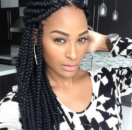 Which is the Best for African American Women Hairstyles? Braids or Weaves? african_american_hairstyle_braids_6-3