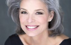 Hairstyles For Gray Hair Without Looking Old