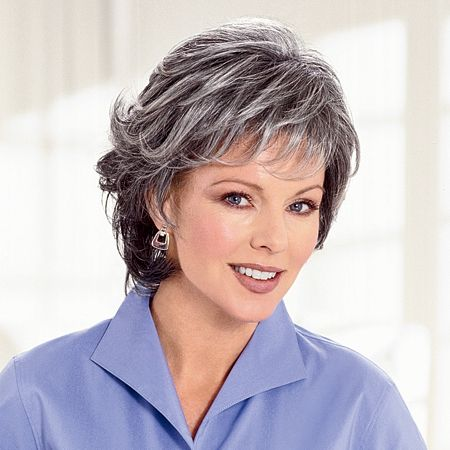 Hairstyles For Gray Hair Without Looking Old older_women_grey_short_hairstyles_12