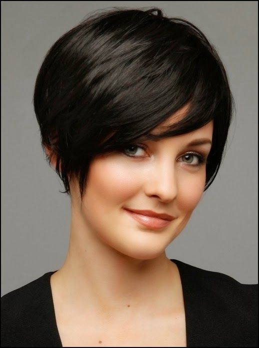 Choosing Hairstyles According To Your Face Shape And Personality oval_face_short_hairstyle_6