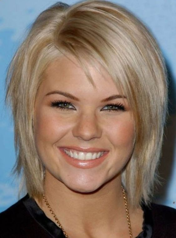 Choosing Hairstyles According To Your Face Shape And Personality round_face_short_hair_ideas_1
