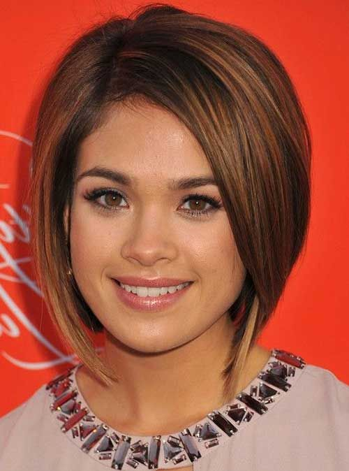 Choosing Hairstyles According To Your Face Shape And Personality round_face_short_hair_ideas_9