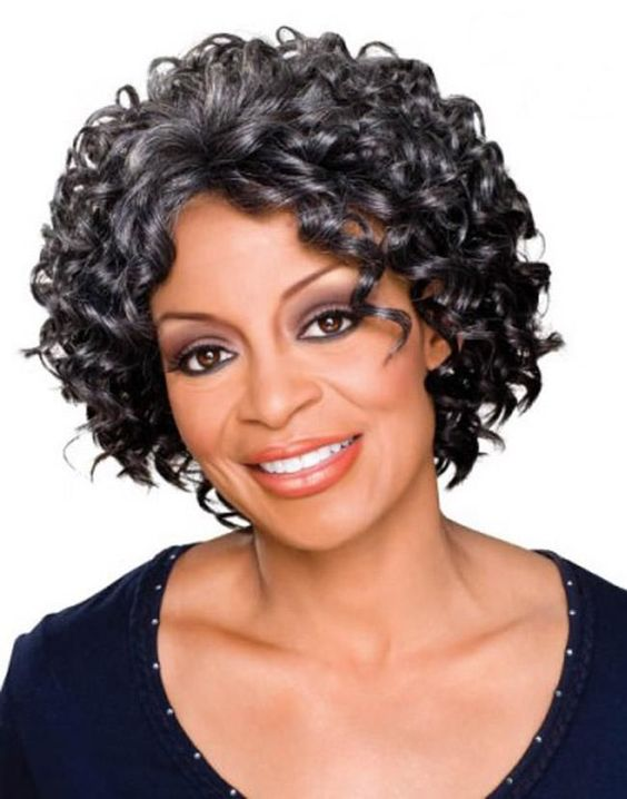 Appealing Short Haircuts For Ladies Over 50 short_haircut_older_african_american_1