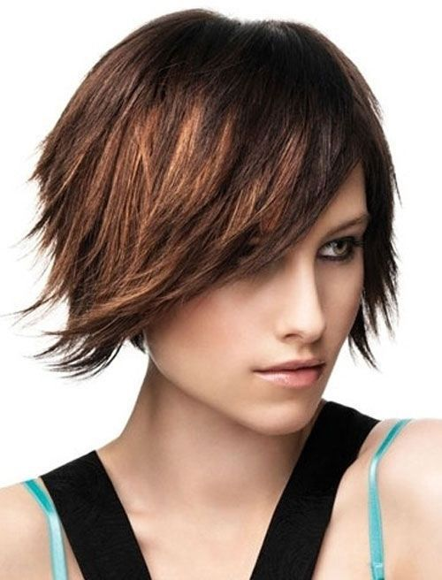 Hairstyles for Straight Hair 2017 short_sassy_haircut_8