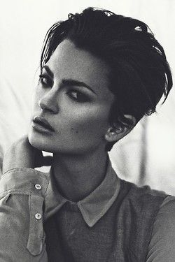 Short Hairstyle And Your Personality short_slick_back_short_hairstyle_women_8