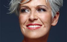 40 Pretty Short Hairstyles for Women Over 50 with Thin Hair (Update 2021) Sassy_Sexy_Pixie_Older_Woman_Over_50_1-235x150