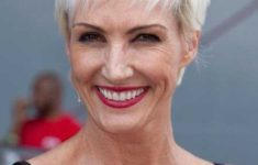 40 Pretty Short Hairstyles for Women Over 50 with Thin Hair (Update 2021) Sassy_Sexy_Pixie_Older_Woman_Over_50_5-235x150