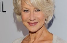 Recommended Short Hairstyles for Women Over 60 With Fine Hair Short_Hairstyles_Women_Over_60_Side_Bangs_2-235x150