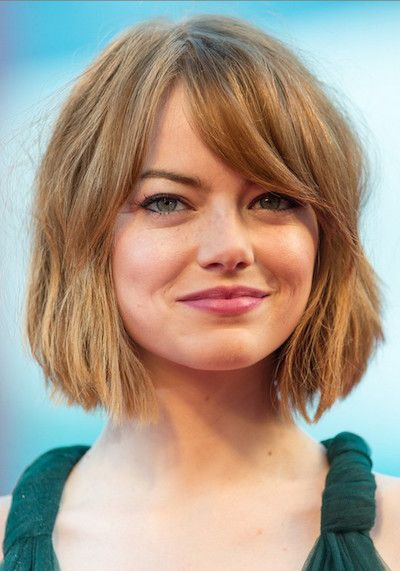short blonde bob haircut that you can try