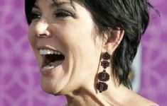 Top Short Haircuts for Women Over 60 with Fine Hair kris_jenner_haircut_6-235x150