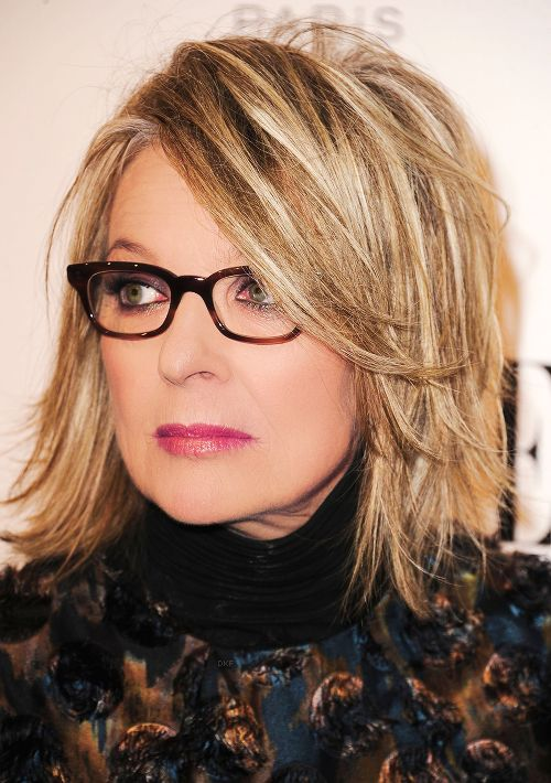 highlights bob with layer fits perfectly for women with glasses
