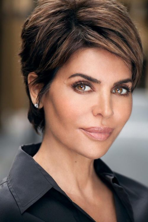 black pixie hairstyle also good for women over 40