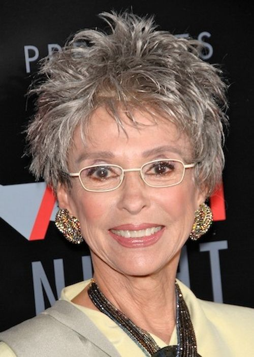 short grey hairstyle for women with glasses short_grey_layered_hair_women_over_60_2