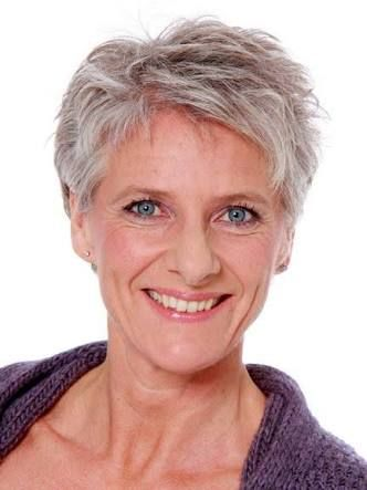 Pretty Grey Hairstyle For Older Women Short Hairstyles 2019