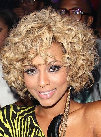 This bob look more stunning if you add color to it short-curly-bob-african-american-women-23