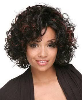 This hairstyle makes any african american woman look cute