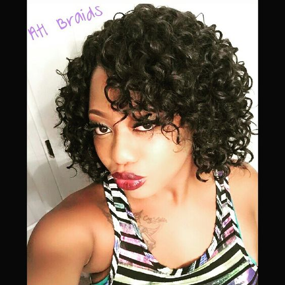 Short curly bob hairstyles look so awesome short-curly-bob-african-american-women-9