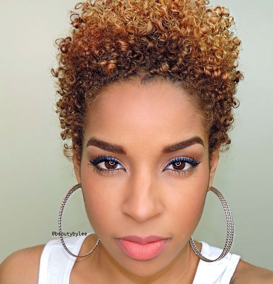 The Best Short Curly Hairstyles for Black Women with Natural Hair best_curly_hairstyles_natural_hairstyle_3