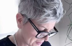 36 Short Hairstyles for Women Over 60 with Glasses (Updated 2019)