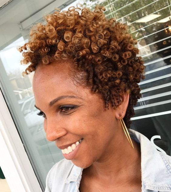 older women natural curly hairstyles