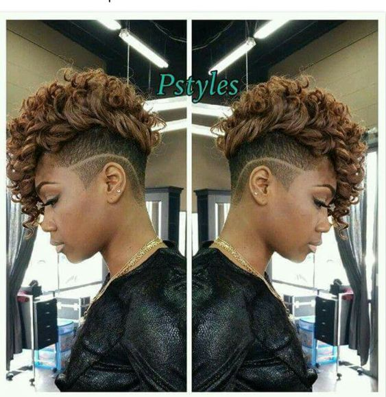 add brown color to your natural curly hair to make it looks fantastic